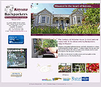 Website Design Knysna Backpackers - HTML